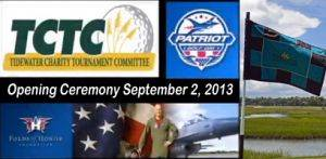 2013 Tidewater Patriot Day signage